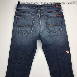 7 for all Mankind Jeans - 7 For All Mankind Boot Cut Jeans 26x29